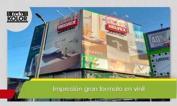 IMPRESIÓN GRAN FORMATO VINIL
