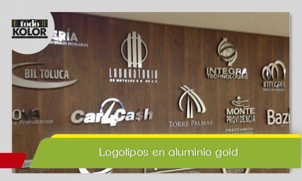LOGOTIPOS ALUMINIO GOLD