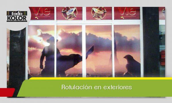 ROTULACIÓN DE EXTERIORES