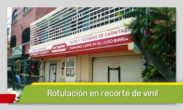 ROTULACIÓN DE FALDÓN