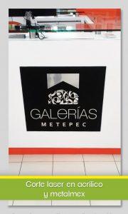 Galerias acrílico y metalmex