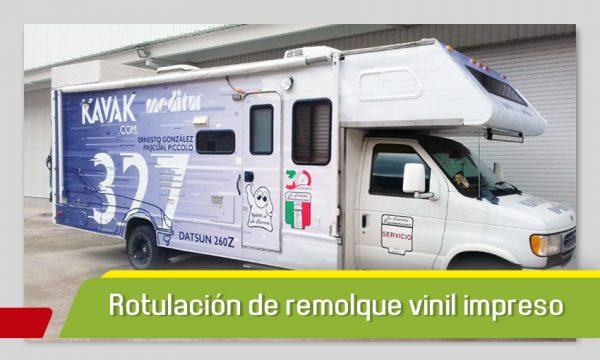 ROTULACIÓN DE REMOLQUE EN VINIL IMPRESO