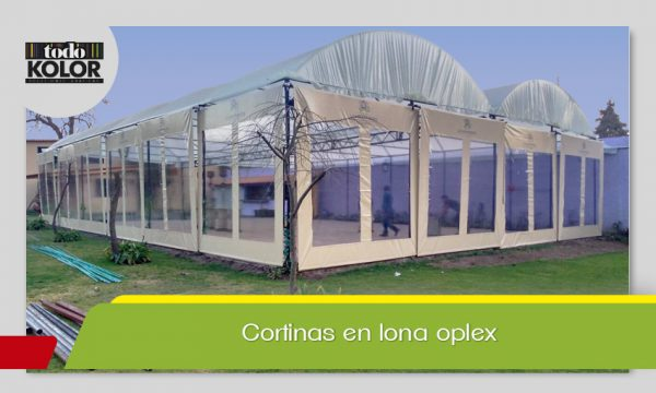 CORTINAS EN LONA OPLEX