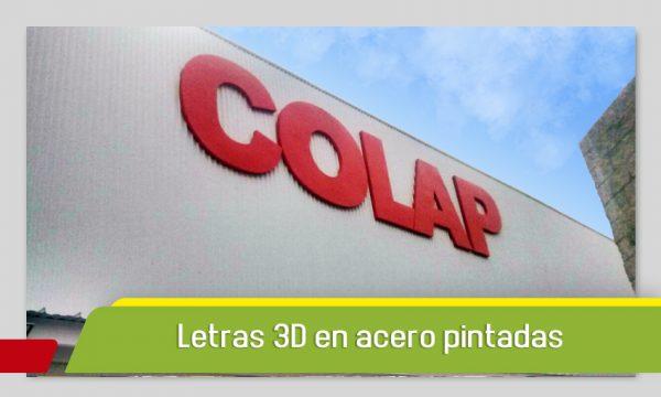 LETRAS 3D EN ACERO ESPECTACULARES