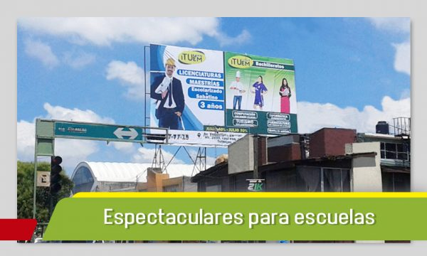 ESPECTACULARES PARA CENTROS EDUCATIVOS